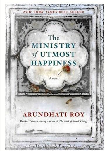Bogen 'Ministeriet for den ypperste lykke'.
