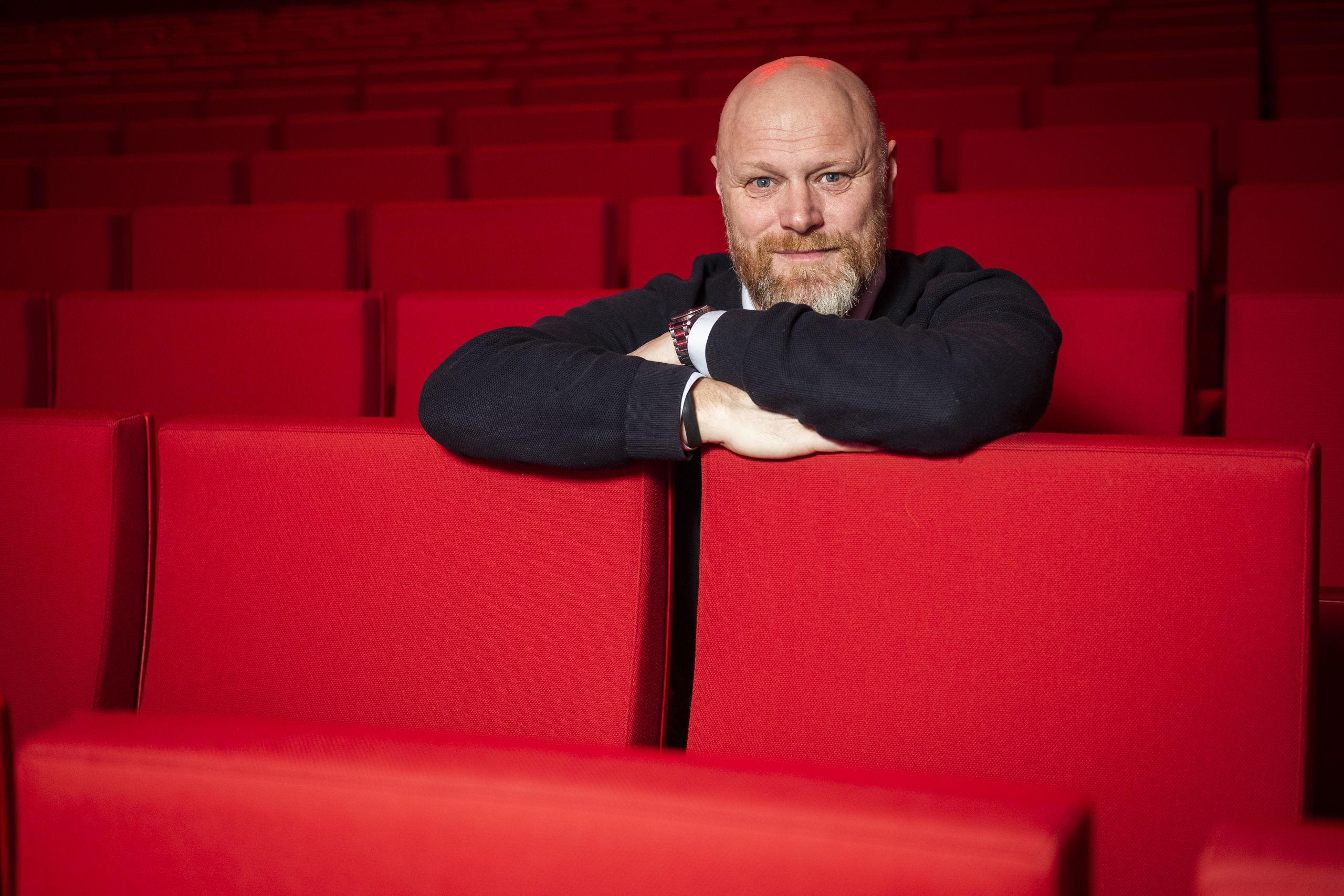 Det gør Mads Steffensen stolt, at de store shows kommer til Aalborg, og at byen bakker så godt op omkring dem. Foto: Lasse Sand