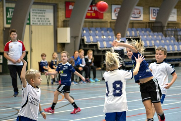 Julehåndboldstævne i Brønderslev. Foto: Kurt Bering
