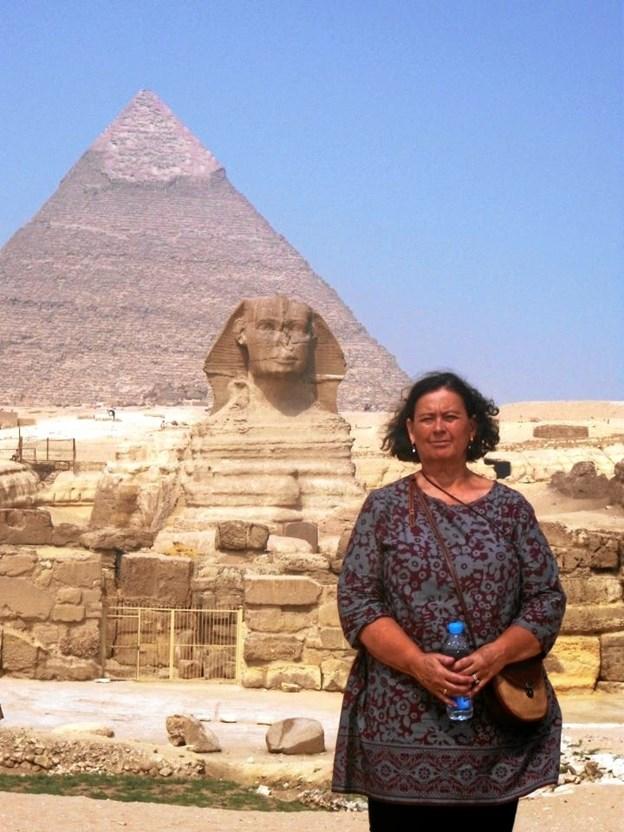 Egyptens varme og skønhed - et godt sted at tilbringe vinteren. Privatfoto.