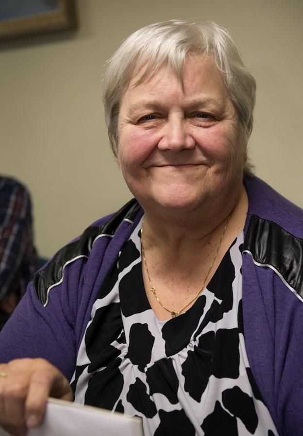 Bente Hansen - mangeårig formand for Husmoderkredsen for Oue & Omegn. Arkivfoto: Anne Mette Welling