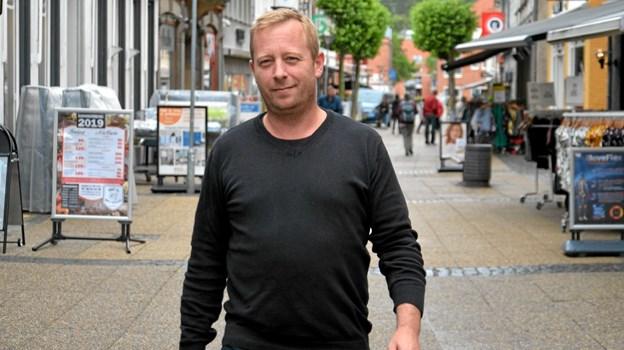 Torben Ringe Christensen, ny citychef i Hobro Handel. Foto: Jesper Bøss