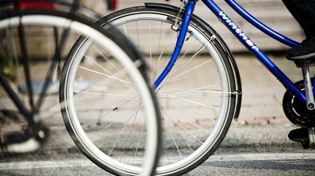 Tilfredsheden med Aalborg som cykelby vokser.Arkivfoto: Diana Holm