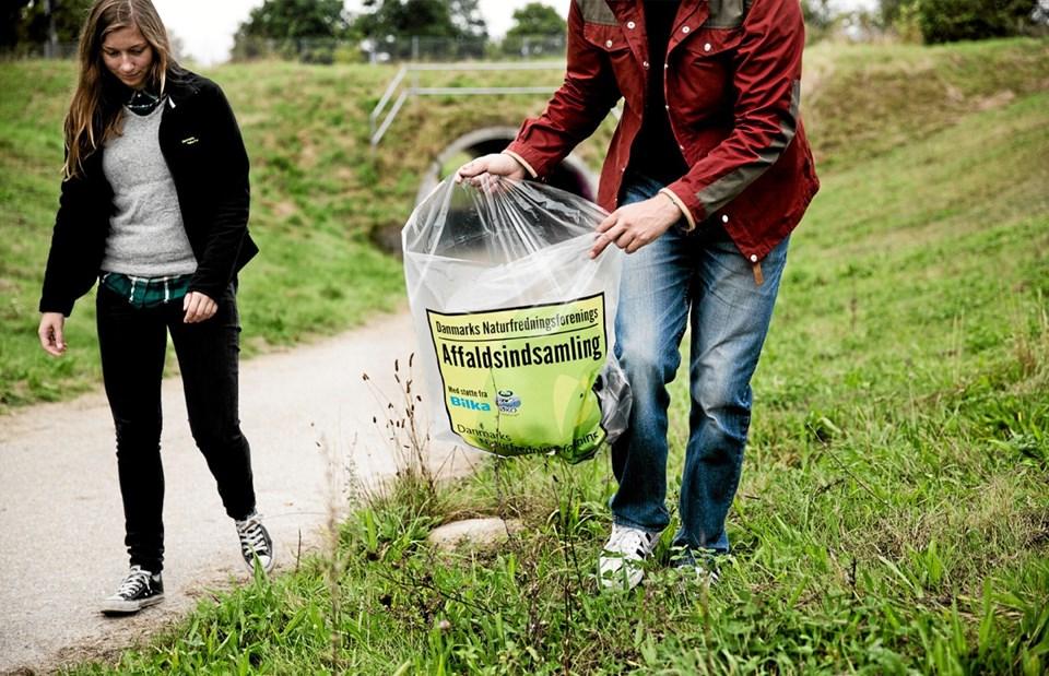 Mange steder i Thy er der affaldsindsamlinger den 31. marts, hvor Affaldsindsamling 2019 afvikles over hele landet. Foto: DN