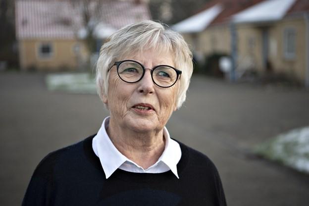 Formand for Ældrerådet Inger Møller Nielsen og resten af udvalget er i store træk meget tilfredse med det forgangne år.Foto: Kurt Bering