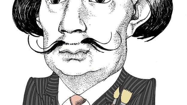 Udstillingen DALI PÅ TOPPEN giver gennem 62 ætsninger og litografier et flot indblik i den spanske kunstner og surrealist Salvador Dalís magiske univers. Udstillingen kan opleves fra 13. julli t.o.m. 28. september 2019. Foto: daligalerie.com
