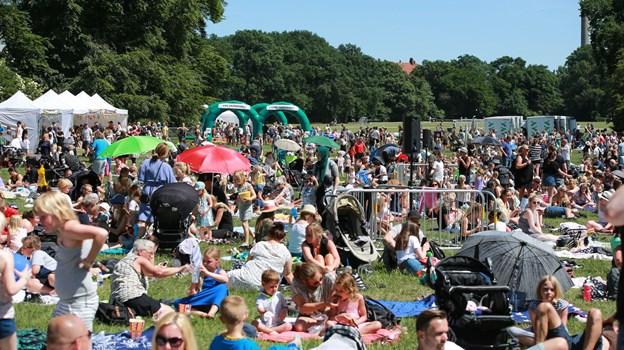 Arrangørerne håber på op mod 3.000 børnefamilier i Aalborg, hvor festivalen finder sted i Kildeparken 30. maj. Privatfoto