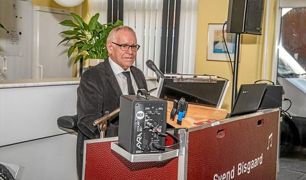 Dejlig stille musik under ´frokosten med Svend Bisgaard. Foto: Mogens Lynge Mogens Lynge
