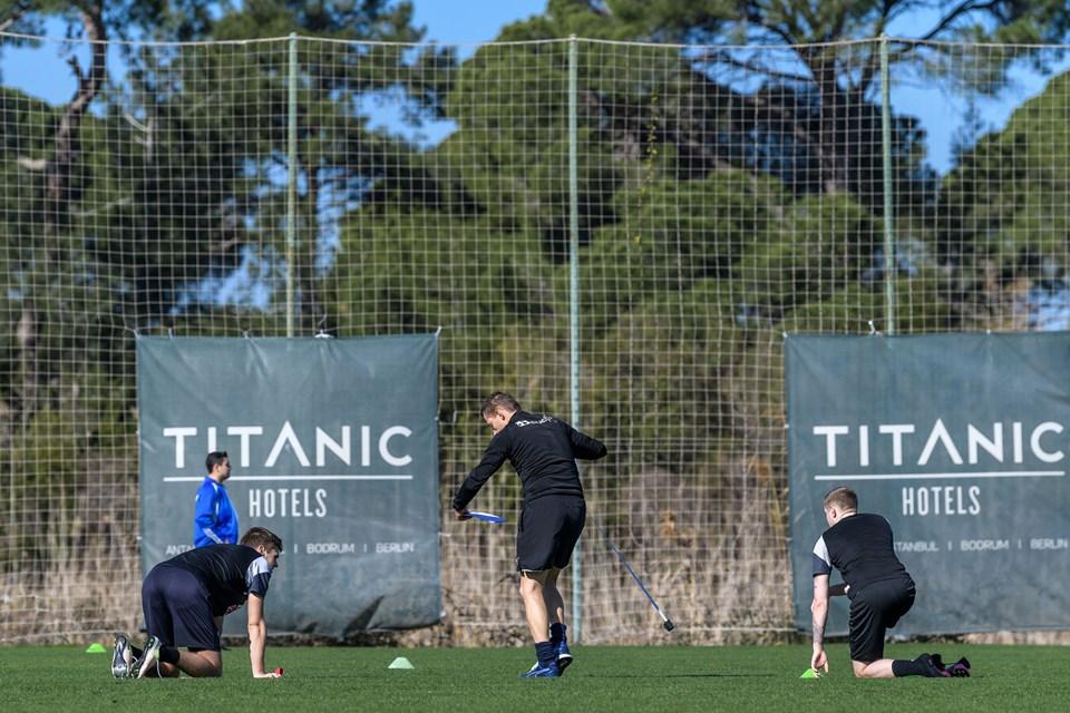 Hobro IK er i gang med træningslejren i Tyrkiet. Foto: Nicolas Cho Meier