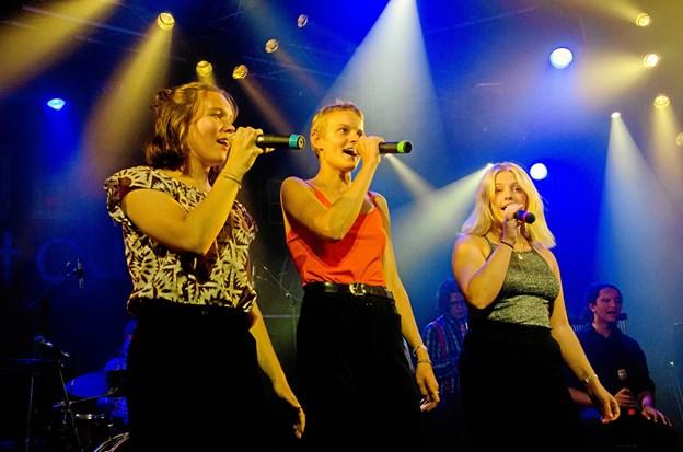 Eleverne nød både turné og finalekoncert i fulde drag. Privatfoto