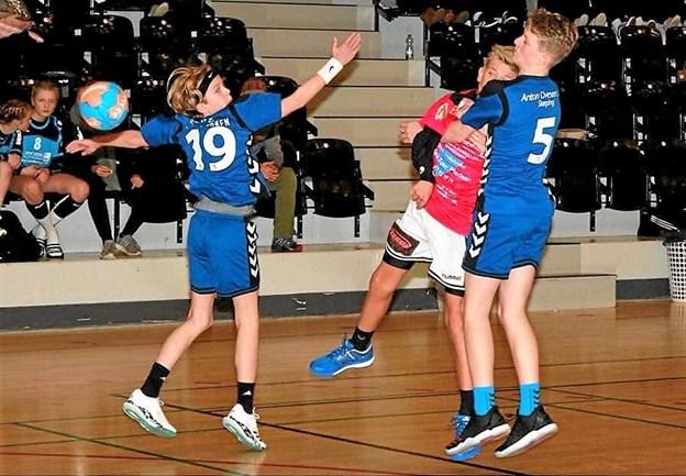På lørdag er der massevis af tophåndbold i Skørping Idrætscenter. Kig forbi! Foto: Privat