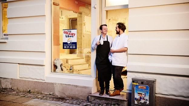 Makkerparret glæder sig til at prøve deres egne ideer af. Foto: Svenn Hjartarson