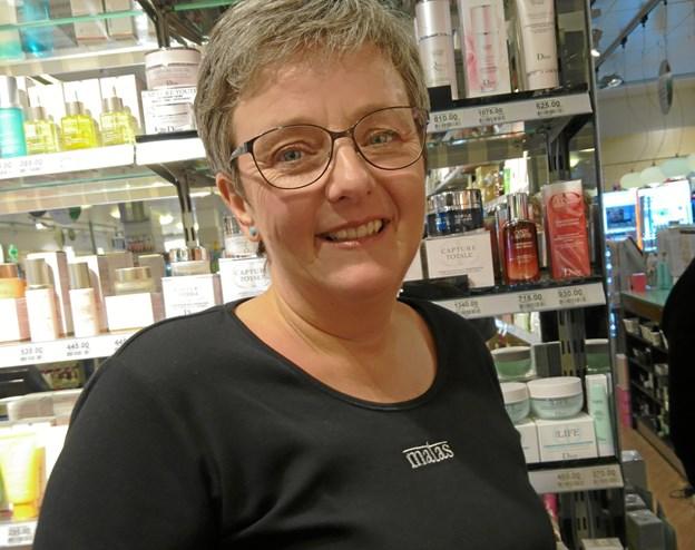 Inge Østergaard har for nylig fejret sit 30 års jubilæum som butiksassistent i Matas, Nykøbing.