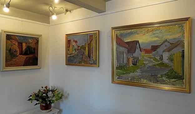 Blandt meget andet kan man se malerier af lokale malere. Foto: Arkivfoto Arkivfoto