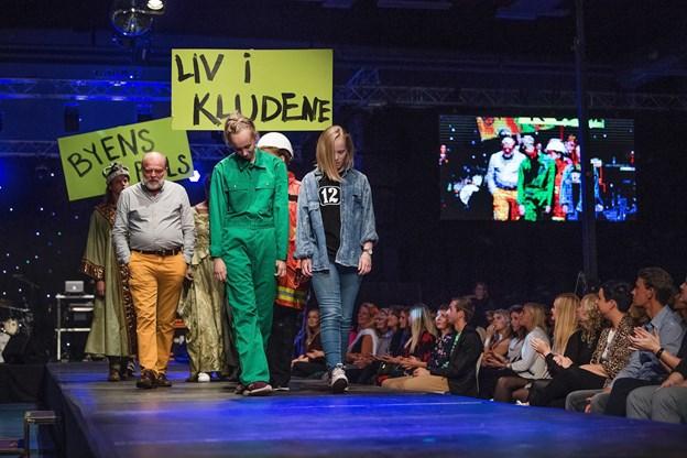 modeshow, Vendiahallenfoto: Hans Ravn