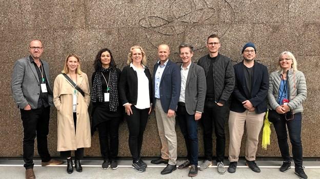 Otte innovative arkitekter fra nogle af landets førende tegnestuer er vendt hjem fra et internationalt arkitektseminar i Portugal arrangeret blandt andre af gulvvirksomhed Timberman i Hadsund.  Privatfoto
