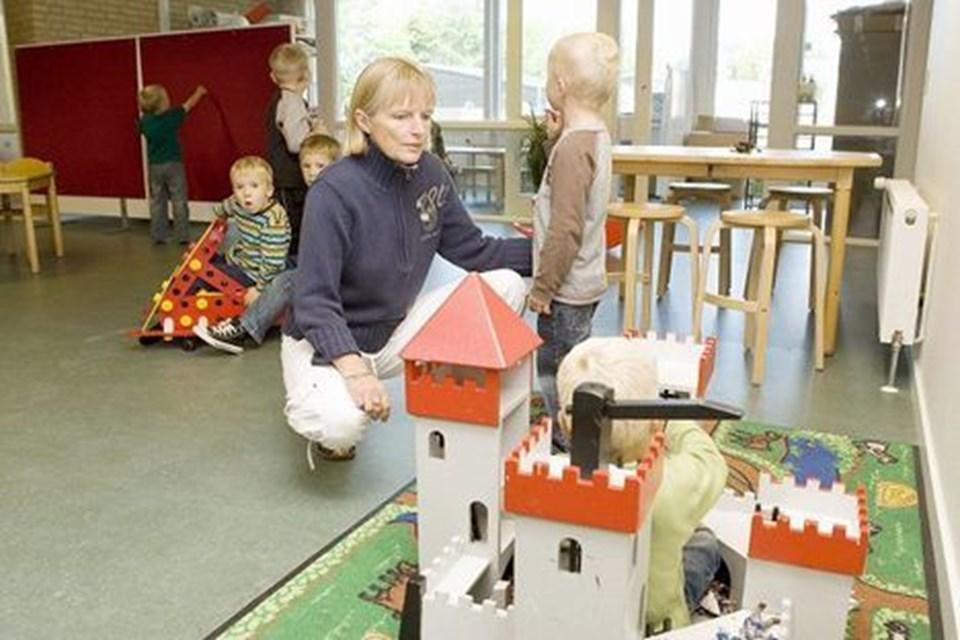 Annette Christiansen er leder af Børnehuset ved Kilden og glæder sig ligesom resten af personalet over de flotte forhold.