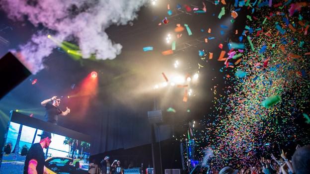 Der kommer vilde nattefester på Stor Scene i årets udgave af Nibe Festival. Arkivfoto: Martin Damgård