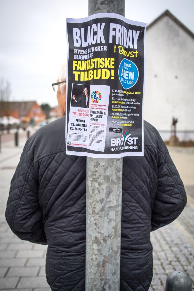 Butikkerne bød på friske tilbud. Foto: Martin Damgård Martin Damgård