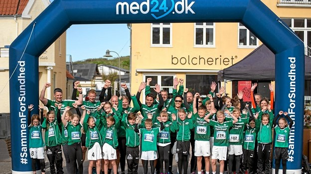 Holdet fra GVL til Løkken Marathon. Foto: Privatfoto