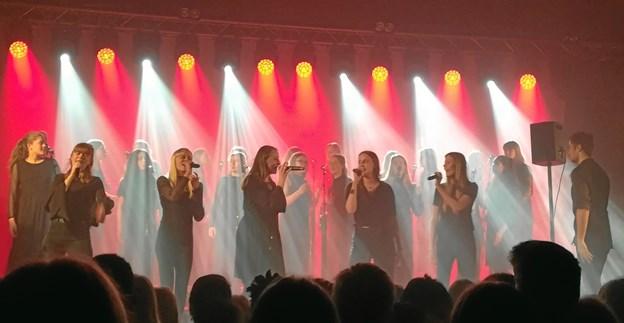 Der er rift om Mariagerfjord Pigekor, som til stadighed udvikler sig via optræden med kendte, rytmiske solister. Privatfoto