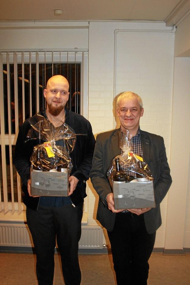 Vinderne i C-rækken: Carsten Calle Christensen og Brian B. Christensen, Randers BK, Privatfoto