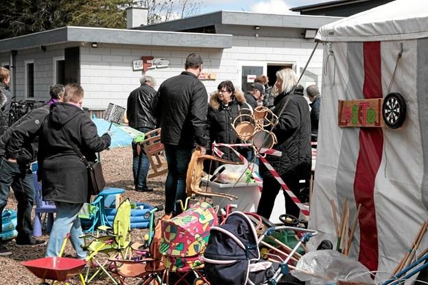 FDF loppemarked i Ålbæk. Foto: Peter Jørgensen Peter Jørgensen