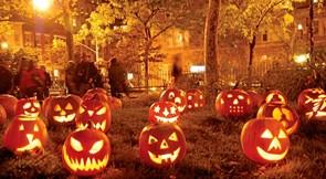 Halloween var kelternes nytår