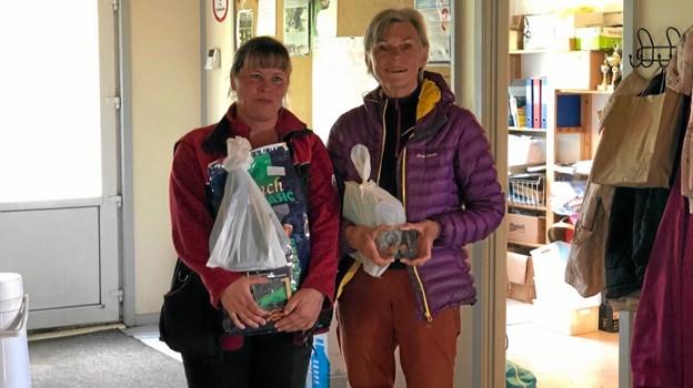 Fra Rally Ekspert er det Jennifer Riis fra Støvring og Gitte Dam Johansen fra Dronninglund. Foto: Ole Torp
