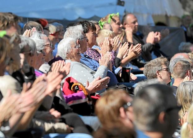 Der er endnu engang lagt op til en publikumstræffer, når Skansespillet til sommer opfører 'Alice i Eventyrland - bag sejlet' på friluftsscenen i Hals. Foto: Allan Mortensen