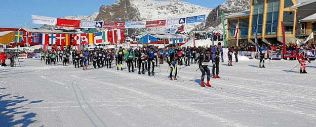 109 løbere fra 14 lande deltog i årets udgave af Arctic Circle Race - den 28. af sin art. Privatfoto