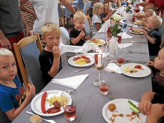 Strandgårdens lækre frokost. Foto: Privatfoto