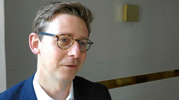 Karsten Lauritzen giver sine skattevisioner ord i Dybvad