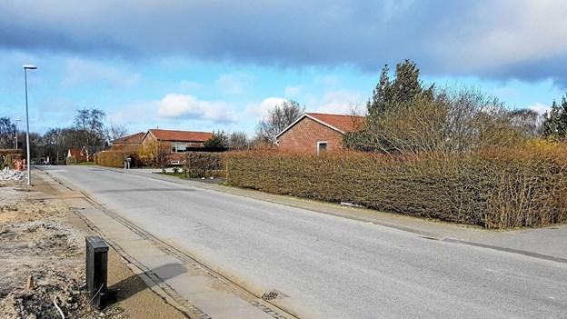 Bakkedraget 11 og 7 erstattes af to dobbelthuse Foto: Karl Erik Hansen Karl Erik Hansen