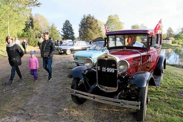 Træffene indrammes af masser af flotte veterankøretøjer. Foto: Allan Mortensen Allan Mortensen