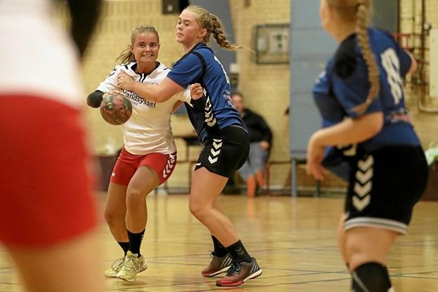 Efter en årrække er HfS-håndbold atter tilbage med hold i voksenrækkerne. Foto: Allan Mortensen