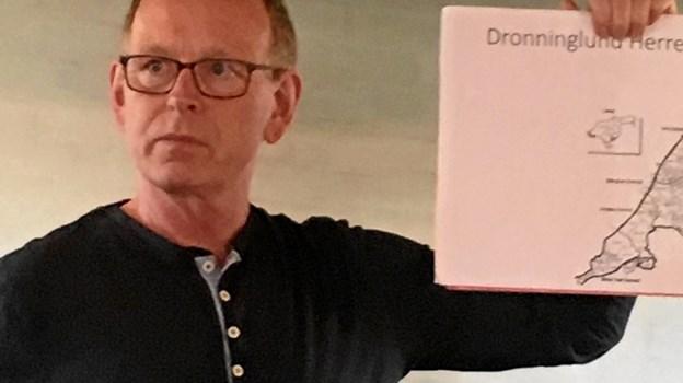 Det er Preben Tamborg Pedersens debutroman.Privatfoto