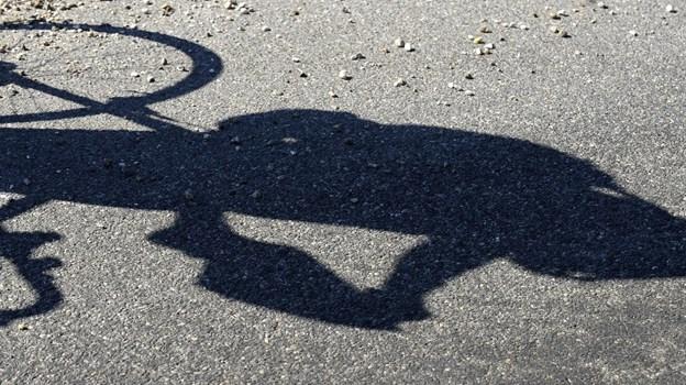 Foto Michael Koch Claus på cykeltur i thy ved Brund