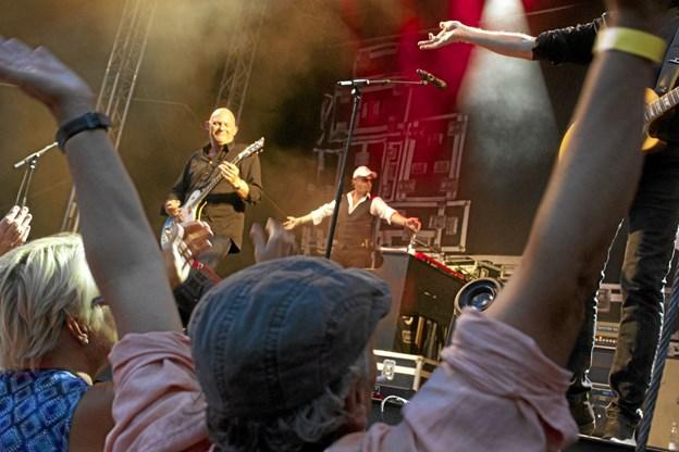 Der blev sunget og klappet igennem, da Skagen Sommerrock så dagens lys i juli sidste år. Foto: Privatfoto