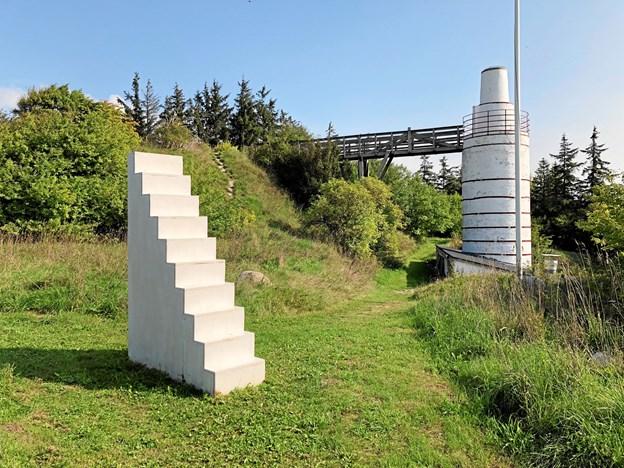 Mælkevejen afspejler både byens historie og inviterer til eftertænksomhed og leg. Privatfoto