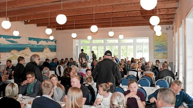 Pinsemorgen i Tolne Skovpavillion. Foto: Peter Jørgensen Peter Jørgensen
