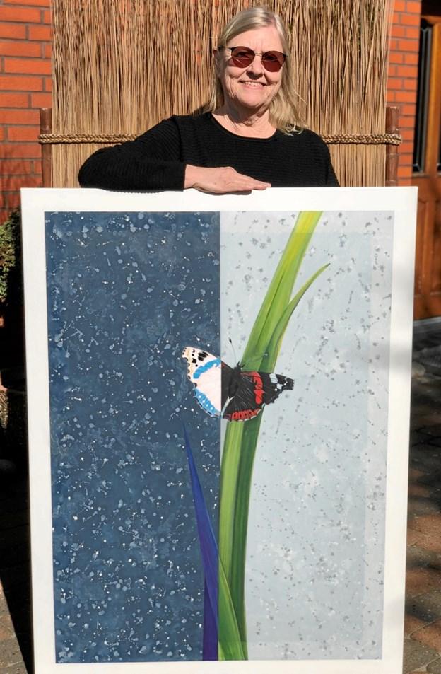 Bente Fisker inviterer indenfor til udstilling over tre weekender. Foto: Privat.