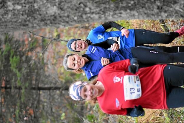 Der var godt vejr til det krævende trail-løb i Lundby Bakker forleden. Foto: Kjeld Mølbæk