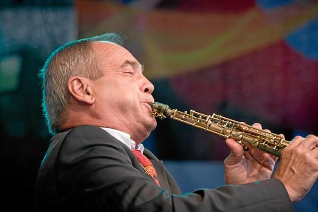 Franske Olivier Franc og hans kvintet kommer til Hobro med musik af legenden Sidney Bechet.  PR-foto