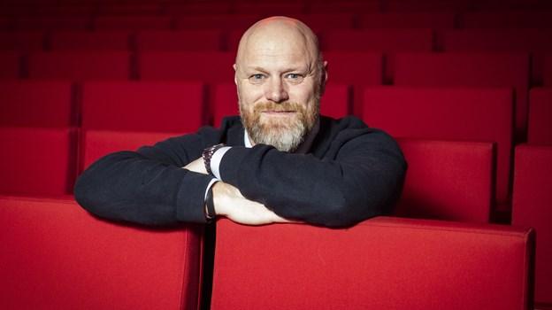Mads Steffensen har netop været vært ved Danmarks Indsamling, der blev sendt fra Musikkens Hus. Foto: Lasse Sand