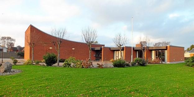 I logebygningen i Frederikshavn hører fire loger hjemme.Arkvifoto