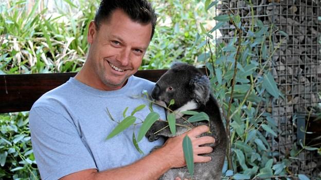 Turen gennem New Zealand og Australien ændrede Frank Jensens liv. Privatfoto