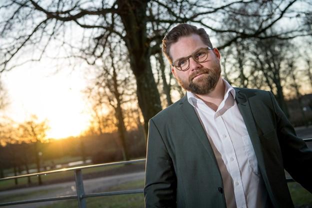 Direktør Nicolaj Holm er både glad og stolt. Arkivfoto: Henrik Bo