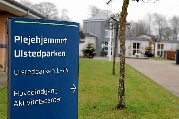 Ulstedparken er for længst lukket. Men nu ser det ud til, at planerne om et privat plejehjem i Ulsted realiseres. Foto: Allan Mortensen