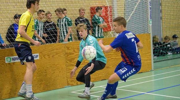 Aabybro IF og Fremad Nørhalne er i samme pulje ved Nørhalne VVS Cup. Arkivfoto. Peter Broen